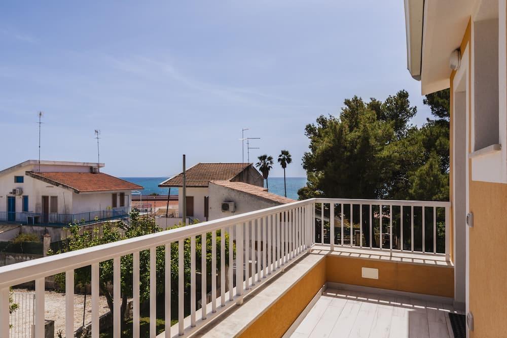 Deluxe appartement, 2 slaapkamers, terras - Balkon