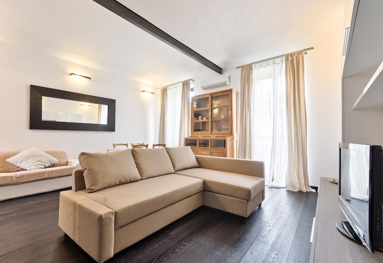 Design Loft Cenisia, Turín, Apartmán, 1 spálňa, Obývačka
