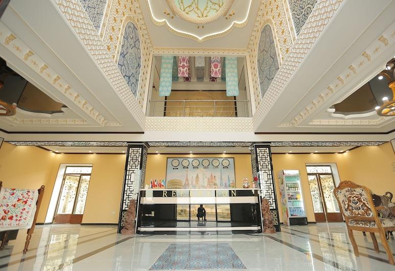 Hotel Khiva Palace, Jiva, Vestíbulo