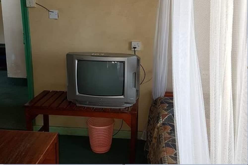 Doppel- oder Zweibettzimmer - Fernseher