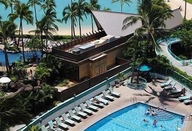伊利凱塔港景 1 房酒店, 檀香山, 公寓客房, 1 間臥室, 泳池