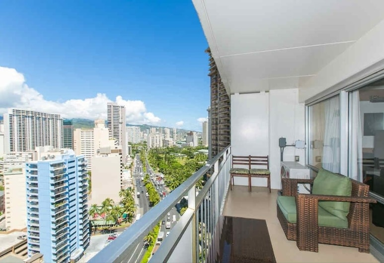 Ilikai Tower One Bedroom City View, Honolulu, Condo, 1 Bedroom, Balcony