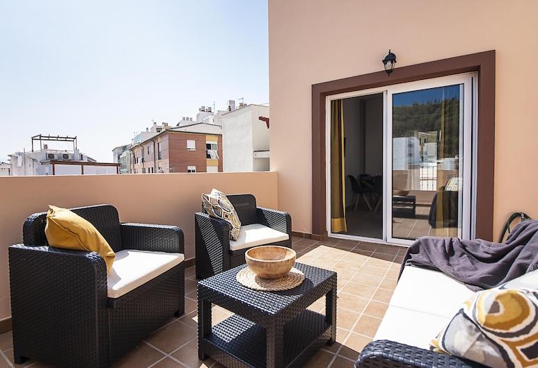 Rayito Freshapartments by Bossh Hotels, Málaga, Mansarda su vitrininiais langais, Terasa / vidinis kiemas