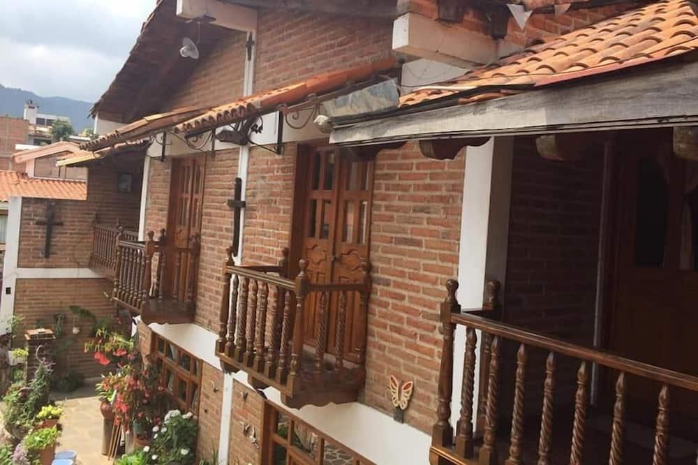 Романтический домик, балкон - Балкон