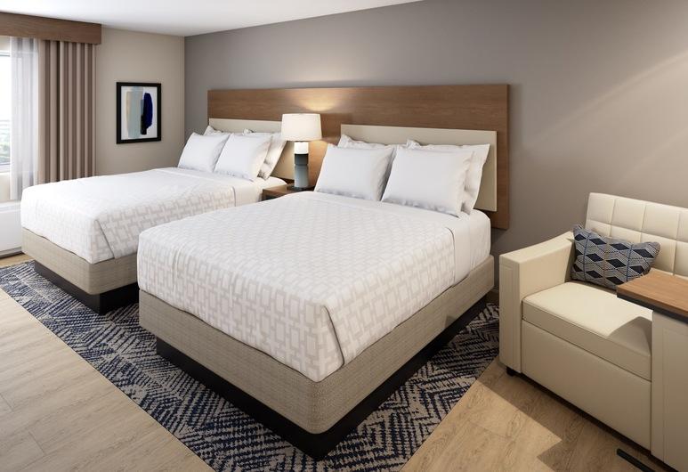 Candlewood Suites DFW West - Hurst, Hurst, Studio Suite, 2 Queen Beds, Accessible (Hearing), Guest Room
