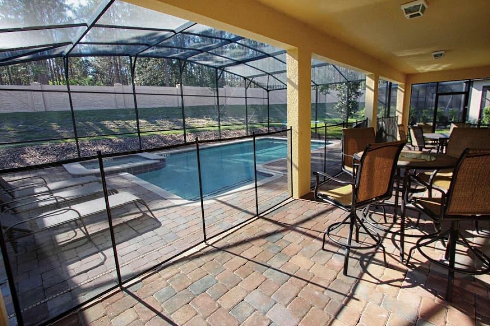 独立别墅, 多张床 (1478 Champions Gate) - 游泳池