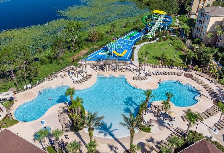 温莎丘 7664 号酒店, 基西米, 公寓, 多张床 (7664 Windsor Hills), 游泳池