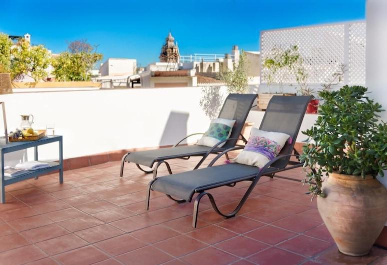 Alfalfa Terrace. Duplex With Amazing Terrace & 3 Bedrooms, Seville, Apartmán (3 Bedrooms), Terasa