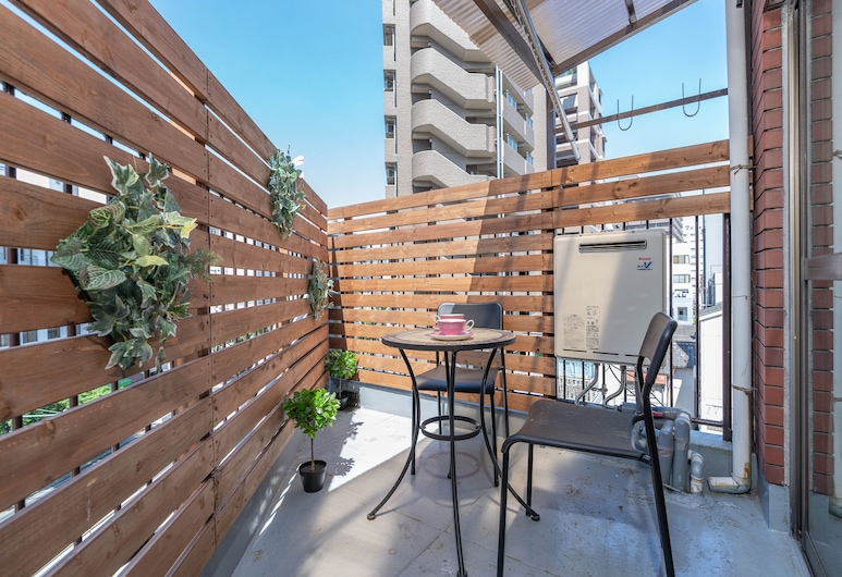 umeda DIJIA, 大阪市, アパートメント, テラス / パティオ