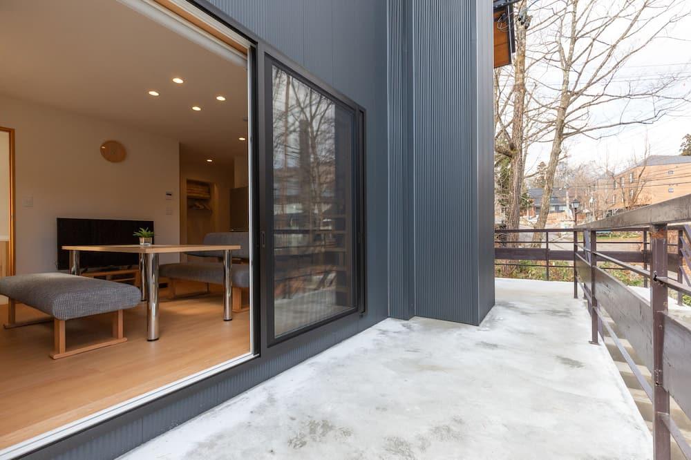 Dzīvokļnumurs, divas guļamistabas (with Loft) - Balkons