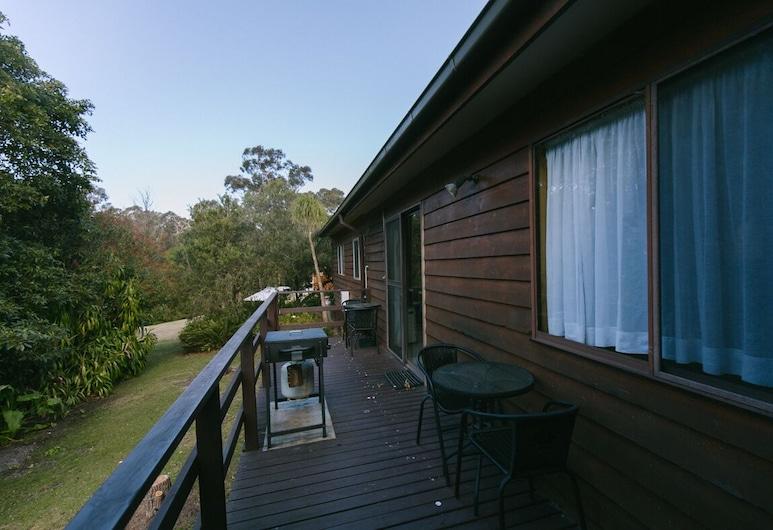 Wonboyn Cabins & Caravan Park, Wonboyn, Kuća u prirodi, Terasa/trijem