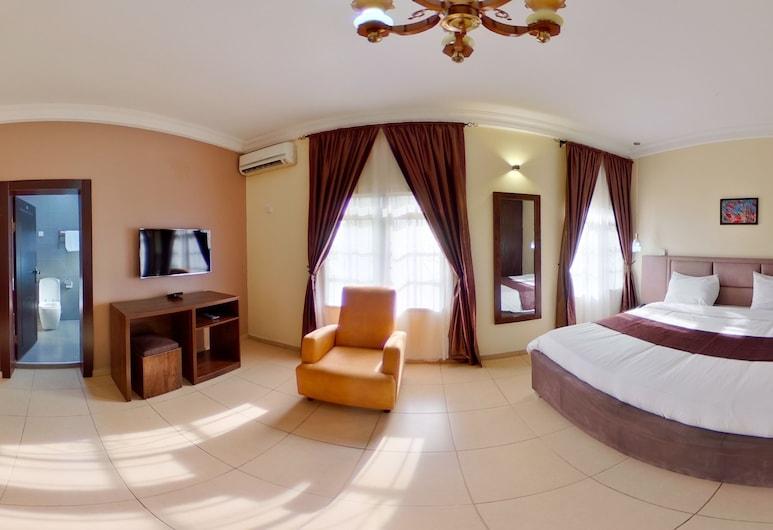 Centurion Apartments - Jabi, אבוג'ה, דירה דה-לוקס, חדר