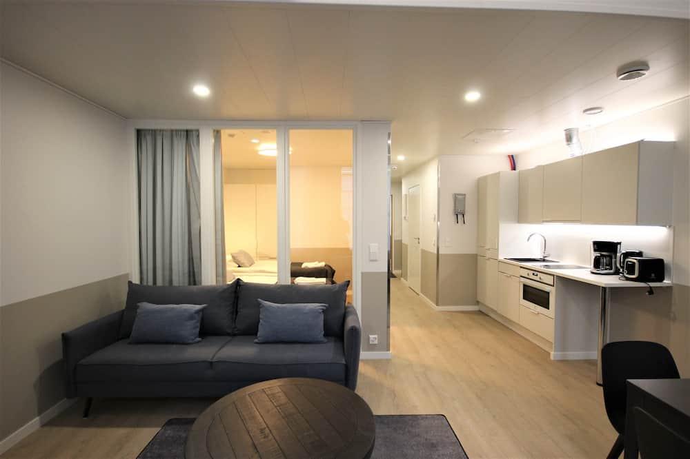 公寓, 2 間臥室 (for 6) - 客廳
