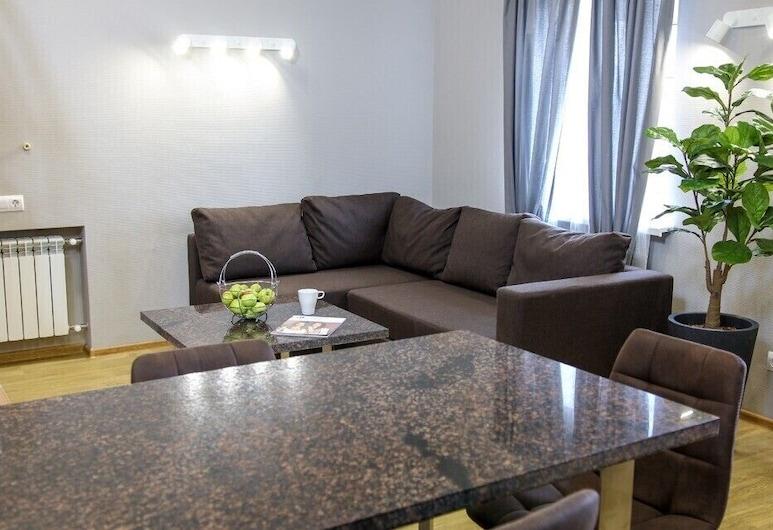 Furor Hotel, Samara, Apartament typu Business, Pokój