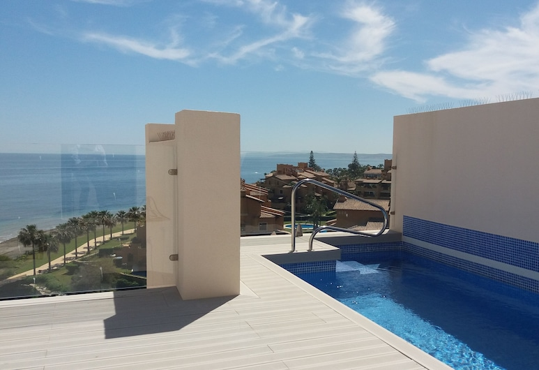 First Line Penthouse With Private Pool, Estepona, Outdoor Pool