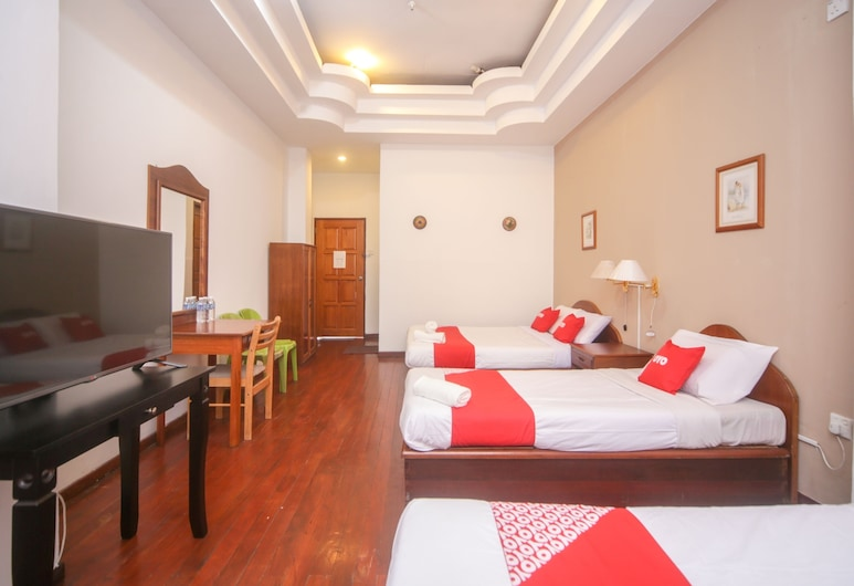 OYO 89537 Fairy Garden Resort, Ranau, Premium-sviitti, Vierashuone