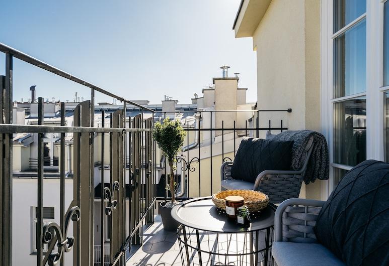 Penthouse Orzeszkowa by Loft Affair, Krokuva, Išskirtinio tipo apartamentai, Vaizdas iš balkono