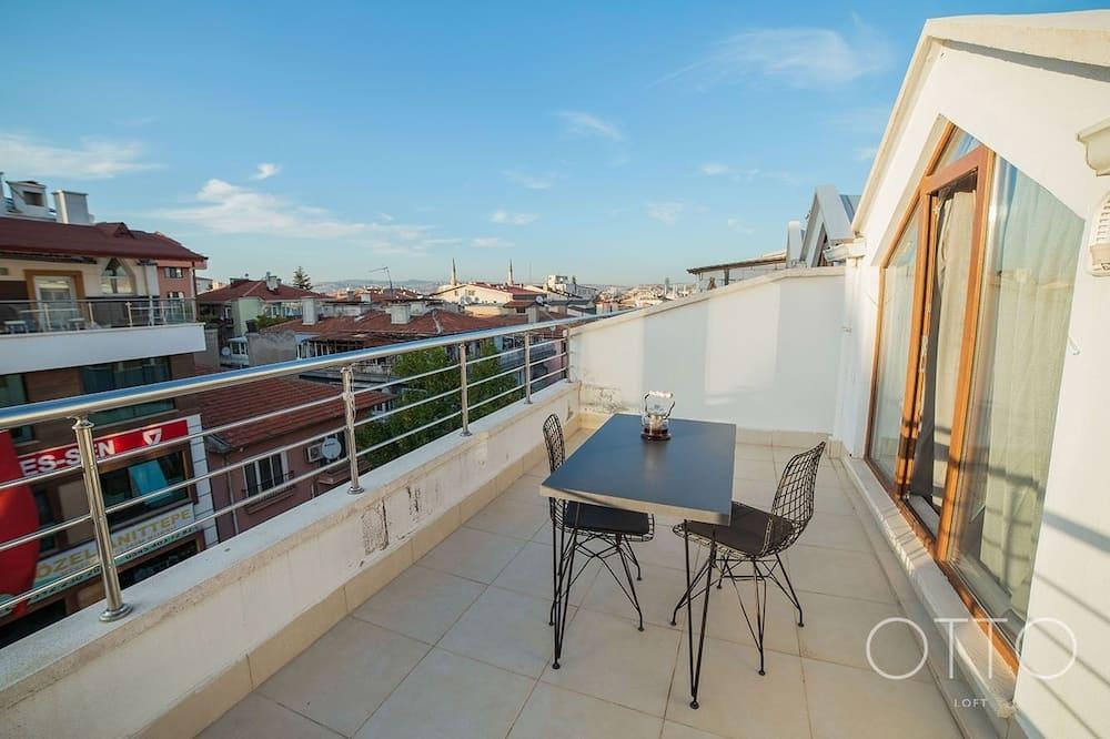 Luxury Çatı Katı Süiti (Penthouse) - Teras/Veranda
