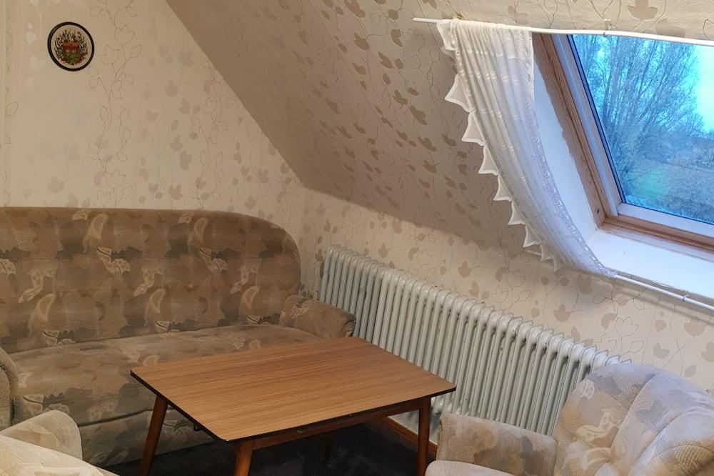 Τετράκλινο Δωμάτιο (Shower) - Περιοχή καθιστικού