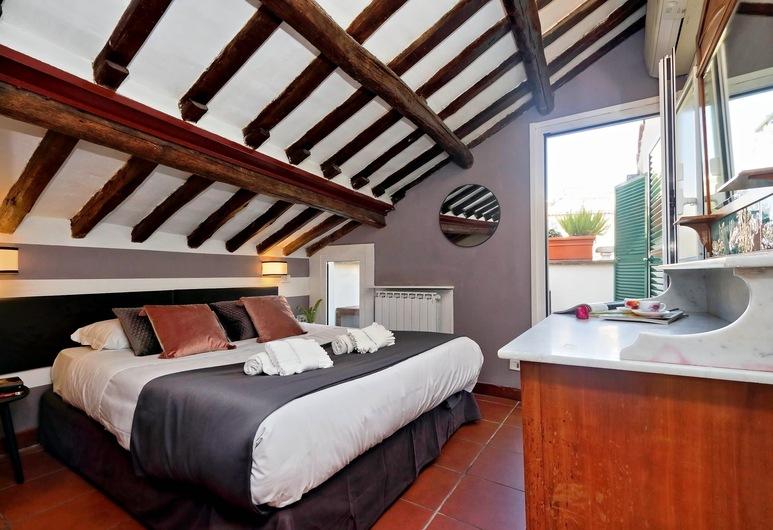 Pellegrino 2 - WR Apartments, Rome, Apartment, 2 Bedrooms, Terrace, Mezzanine, Room
