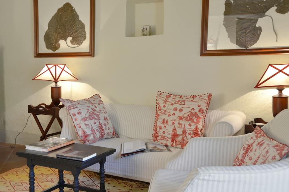 Apartment, 1 Schlafzimmer, Gartenblick (Lilli) - Wohnbereich