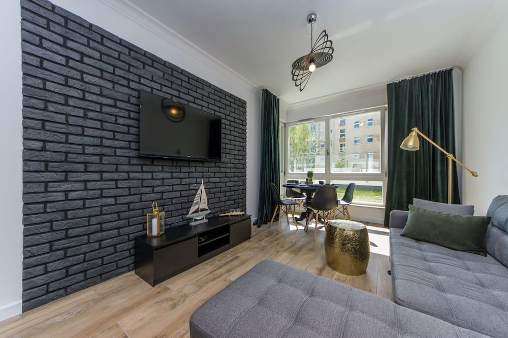 Departamento, terraza - Sala de estar