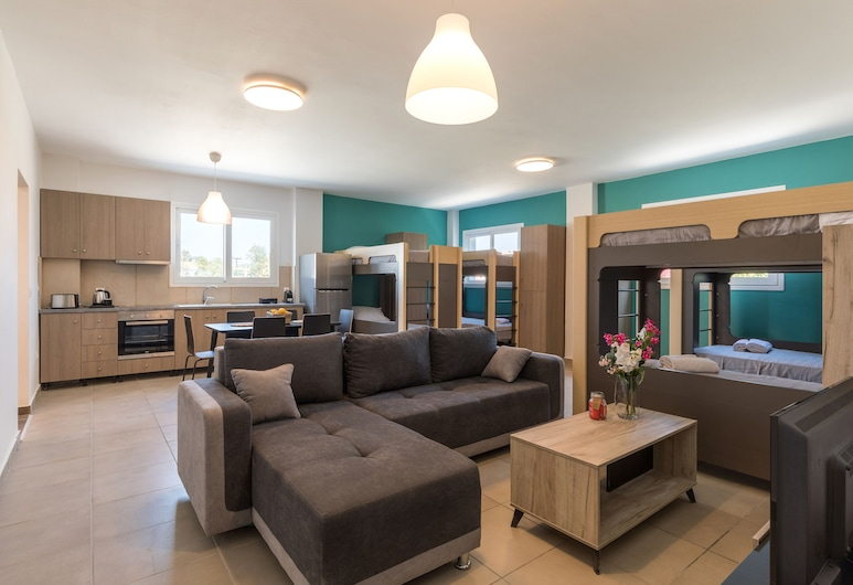 Local Hostel & Suites, Κέρκυρα, Κρεβάτι Ξενώνα, Μόνο για άντρες, Δωμάτιο επισκεπτών