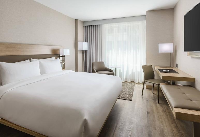 AC Hotel by Marriott Washington DC Downtown, Washington, Rum - 1 kingsize-säng - icke-rökare - utsikt mot staden, Gästrum