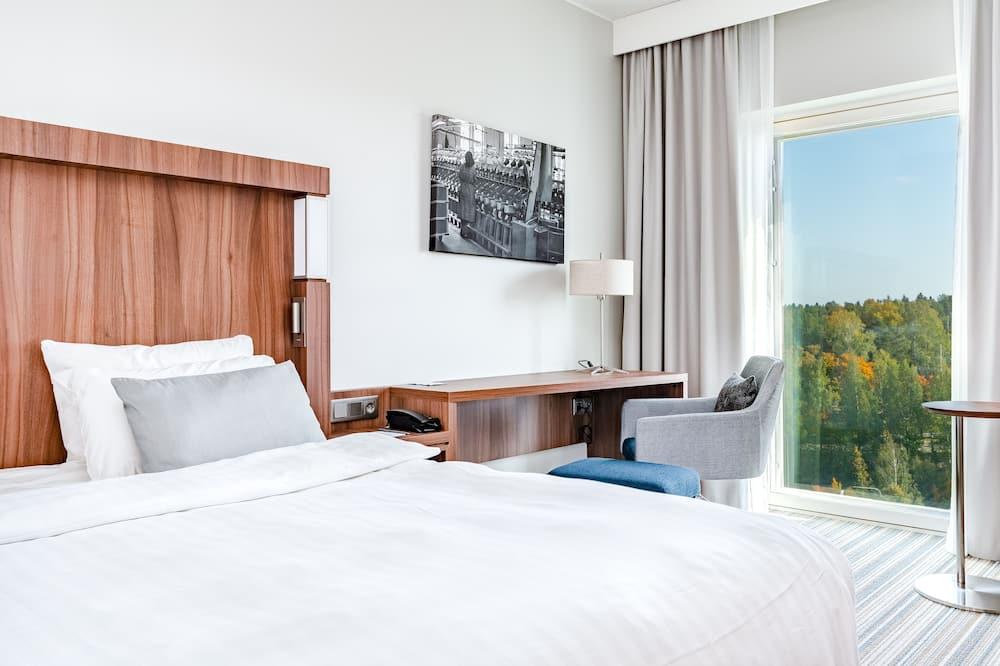 Стандартний номер, 1 ліжко «кінг-сайз», для некурців - З видом на сад