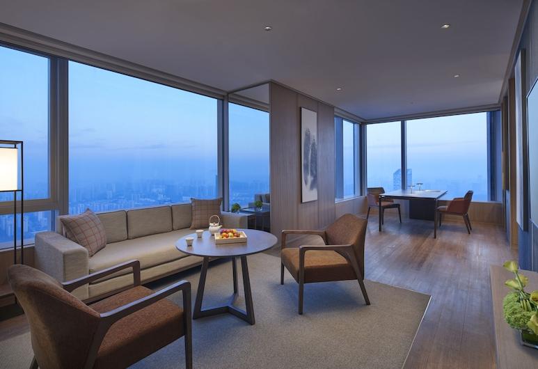 Grand Hyatt Hefei, Hefei, Grand, Apartament typu Suite, Łóżko king, Pokój