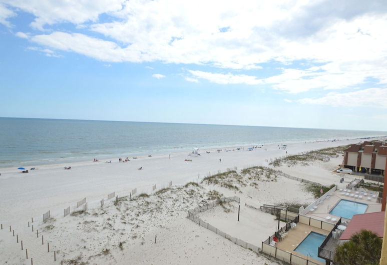 Driftwood Towers 6E by Bender Vacation Rentals, Gulf Shores, Leilighet, 2 soverom, Strand