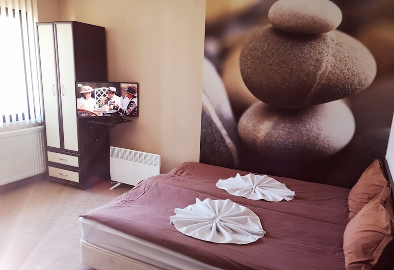Hotel Riskyoff, Bansko, Habitación con 1 cama doble o 2 individuales, vista a la montaña, Habitación