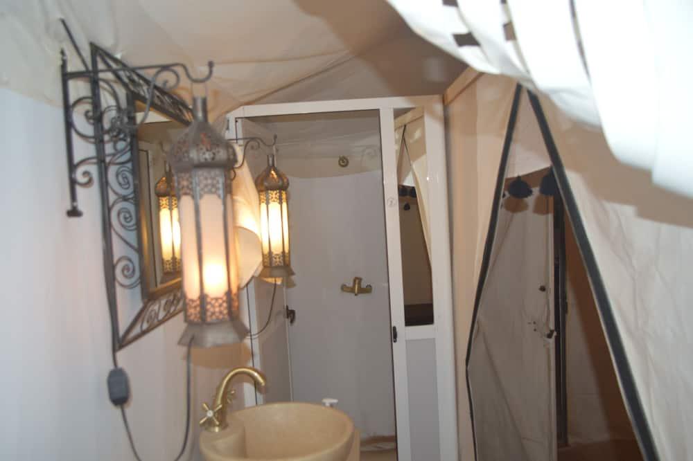 Tent (Double) - Bathroom