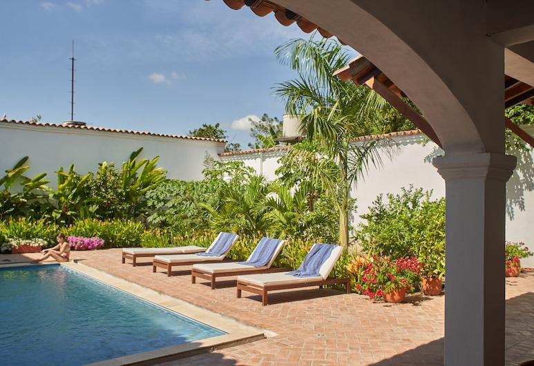 聖拉菲爾酒店, Mompos, 泳池