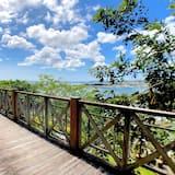 豪華單棟小屋, 海景 - 露台