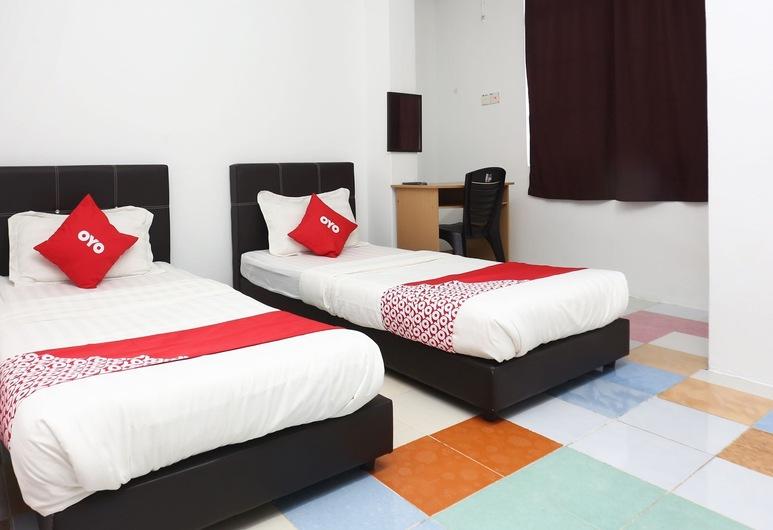 OYO 89434 KB Rest Inn, Kota Bharu, Pokoj Deluxe se dvěma jednolůžky, Pokoj