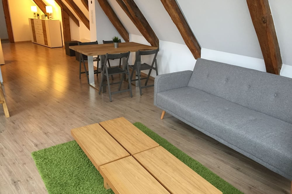 Appartement (3.6, incl. Cleaning and bed linen fee) - Coin séjour