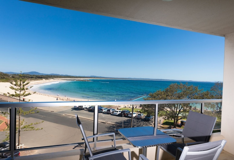 Beachpoint Unit 303, Forster, Room, Balcony