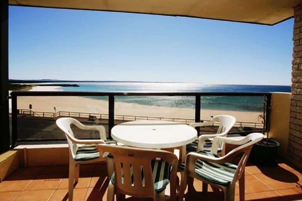 Zimmer - Blick vom Balkon
