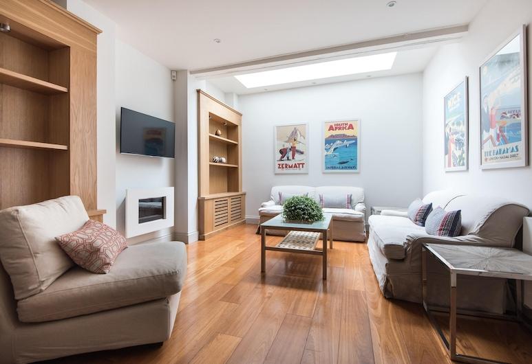 格雷戈里廣場 - 閱居酒店, 倫敦, 公寓 (3 Bedrooms), 客廳