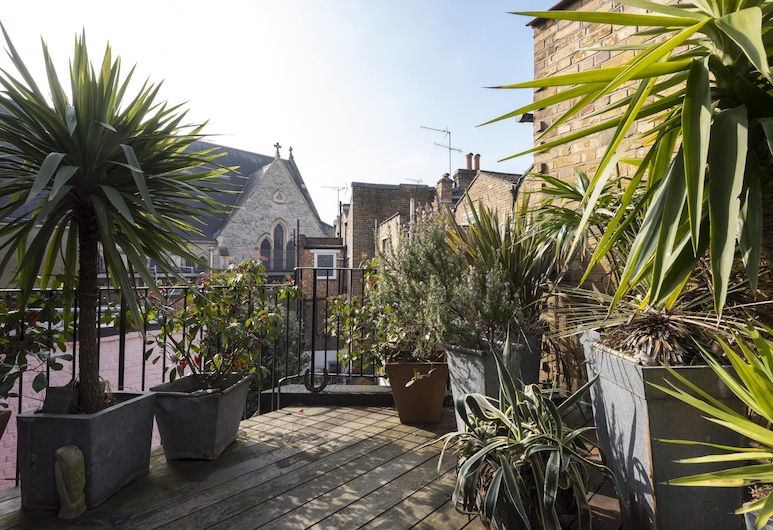 Leysfield Road by Onefinestay, London, Apartment (2 Bedrooms), Terrasse/Patio