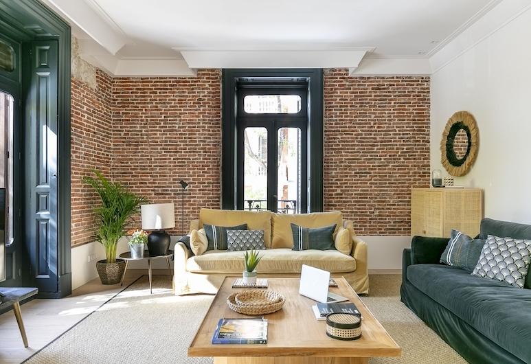 New Heima Prado Museum B1, Madrid, Apartment, 2Schlafzimmer, Nichtraucher, Erdgeschoss, Wohnzimmer