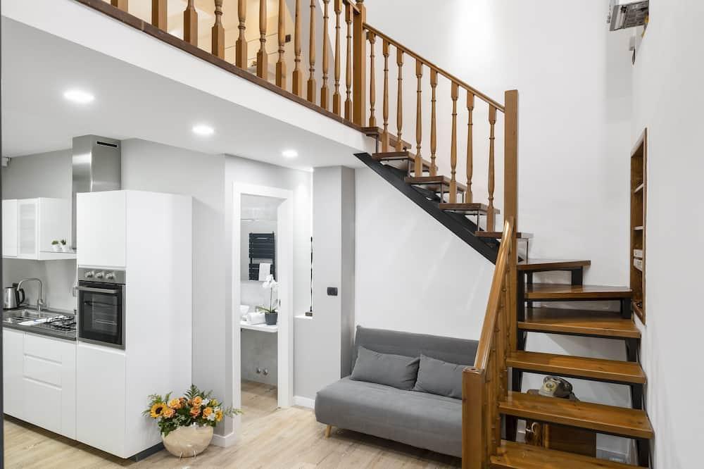 Maisonette, 1 Schlafzimmer (Duplex Luxurious Apartment) - Wohnbereich
