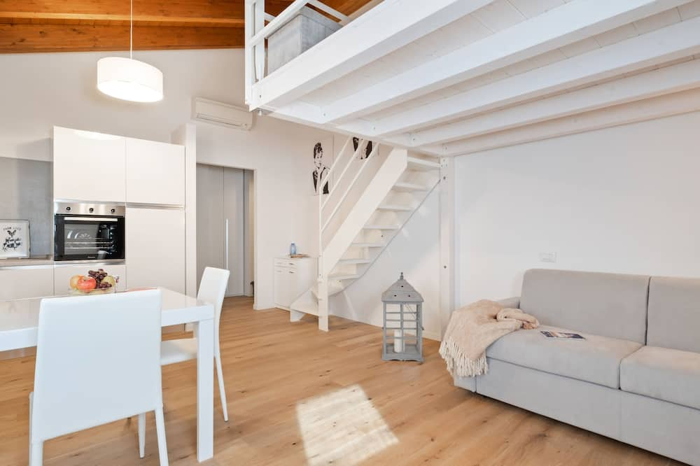 Apartment, 1 Schlafzimmer, Zwischengeschoss - Wohnbereich