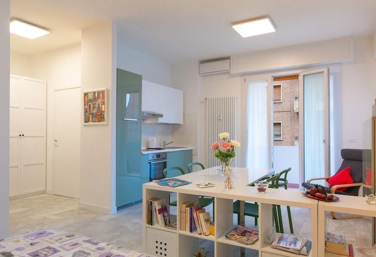 Porta San Felice Homely Studio, Bologna, Eenvoudige studio, Woonruimte