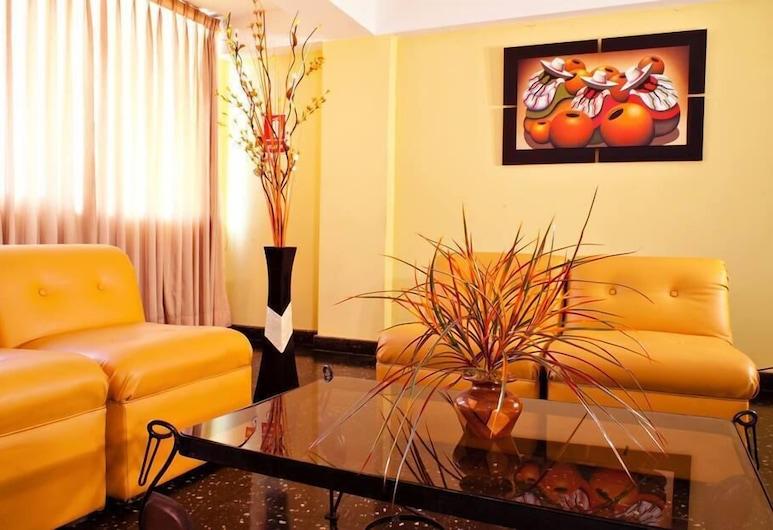 Hotel Olaya, Chorrillos, Sala de estar en el lobby