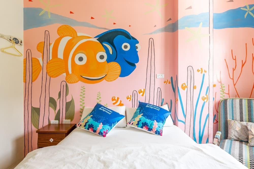 Chambre Double, vue montagne - Chambre à thème pour enfants