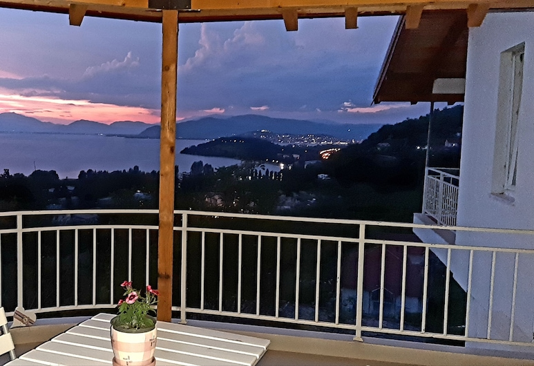 Villa Chingo, Ohrid, Kamar Double Eksklusif, Teras/Patio