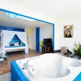 Deluxe Double Room, Partial Ocean View - Private spa tub