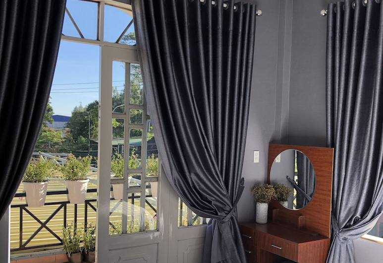 Smile Villa Da Lat, Ðà Lat, Zimmer, Balkon (Lavender), Zimmer